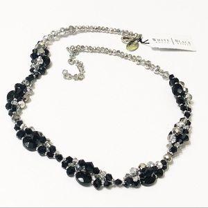 White House Black Market • Beaded Sparkle Necklace
